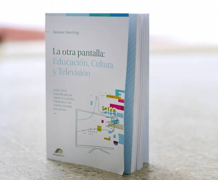 Fotografía de la tapa del libro Libro La otra pantalla: Educación, cultura y televisión